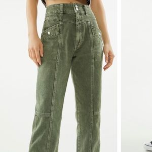 URBAN OUTFITTERS HIGH WAISTED JEANS WORN ONCE!!